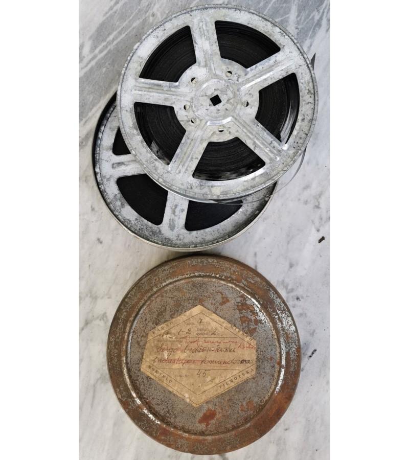 Tarybinio laikotarpio,  7-to dešimtmečio kinofilmas Prof. Gerasimovo darbai. Kaina 12