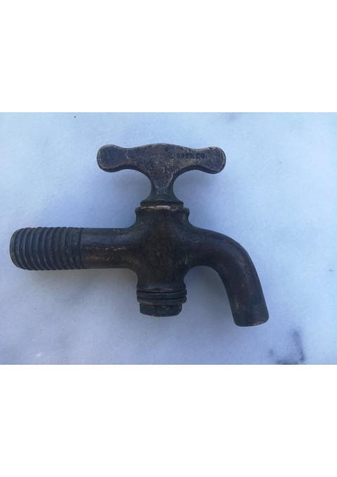 Čiaupas, kranas antikvarinis, bronzinis. Veikiantis. Kaina 23