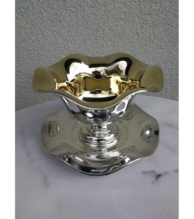 Indas metalinis, puošnus. Kaina 28