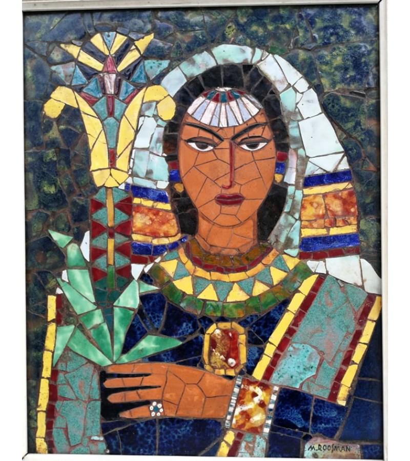Paveikslas - mozaika. Keramika, rankų darbo. Kaina 42