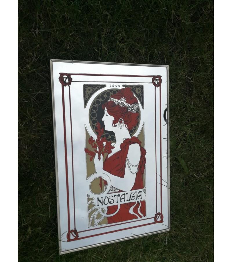Paveikslas - veidrodis Art nouveau, Jugendstil. Kaina 23