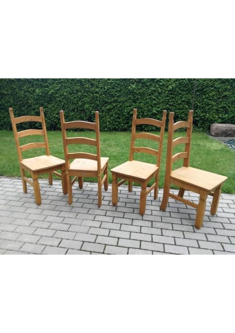 Kėdės Wolfmobel, tvirtos, medžio masyvo. Vokietija. 4 vnt. Kaina po 28