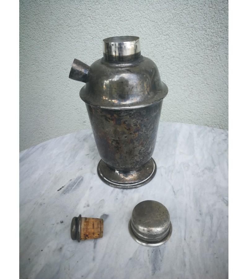 Indas arbatai metalinis, sidabruotas. England. Kaina 16