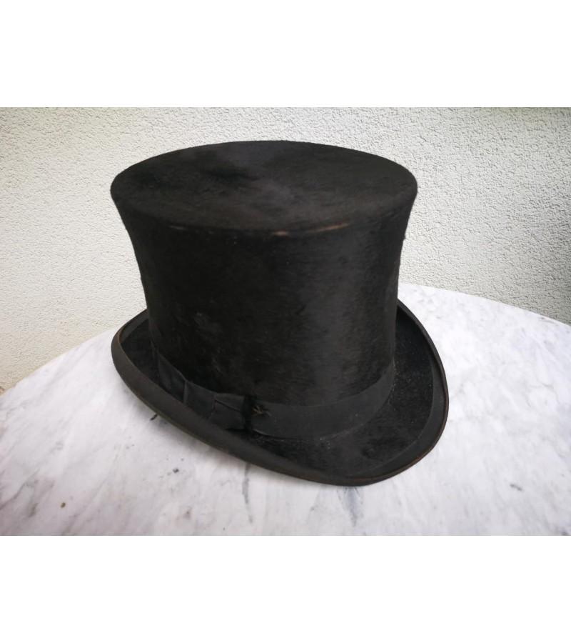 Cilindras (skrybėlė) antikvarinis. Kaina 47