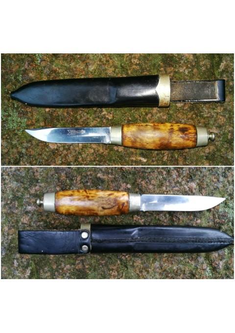 Peilis medžioklinis Brusletto Geilo, Made in Norway originaliame dėkle. Kaina 82