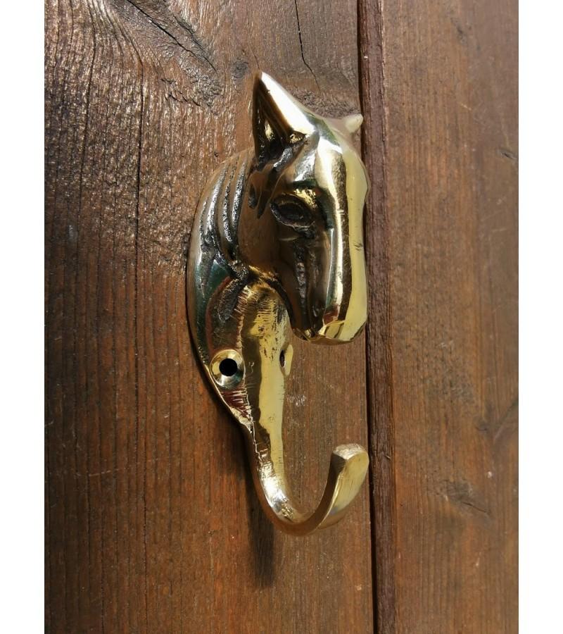Kabyklos bronzinės, arkliuko, žirgo galva. Tvirta. 6 vnt. Kaina po 12