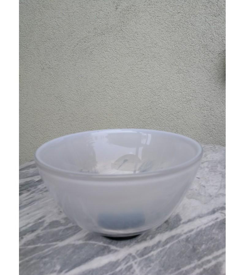 Indas, dubuo pieno stiklo, autorinis. Kaina 13