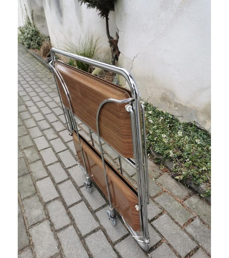 Servantas su ratukais, išskleidžiamas, vintažinis. Vokietija. Kaina 42