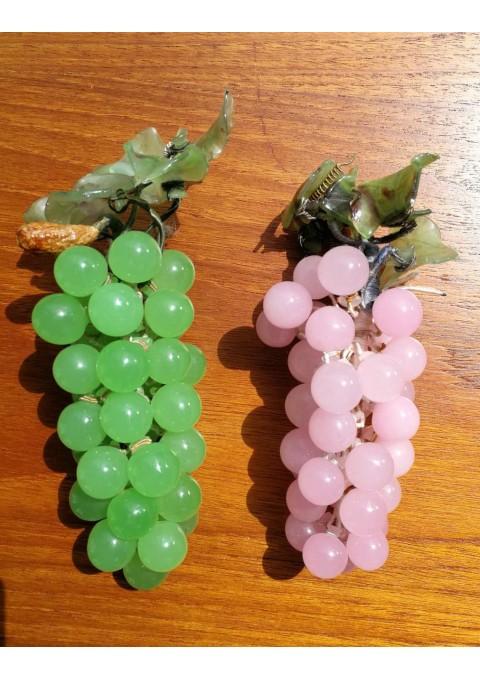 Vynuogės stiklinės, antikvarinės. 2 vnt. Kaina po 16