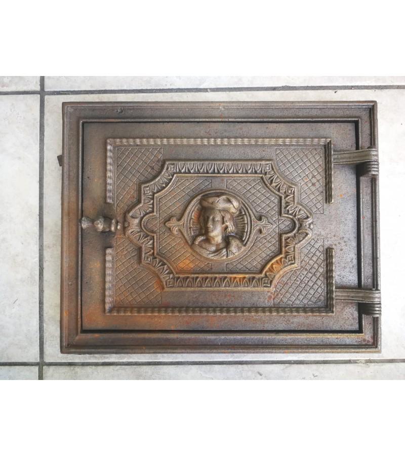 Durelės krosnies antikvarinės ketaus (špižinės). Kaina 62