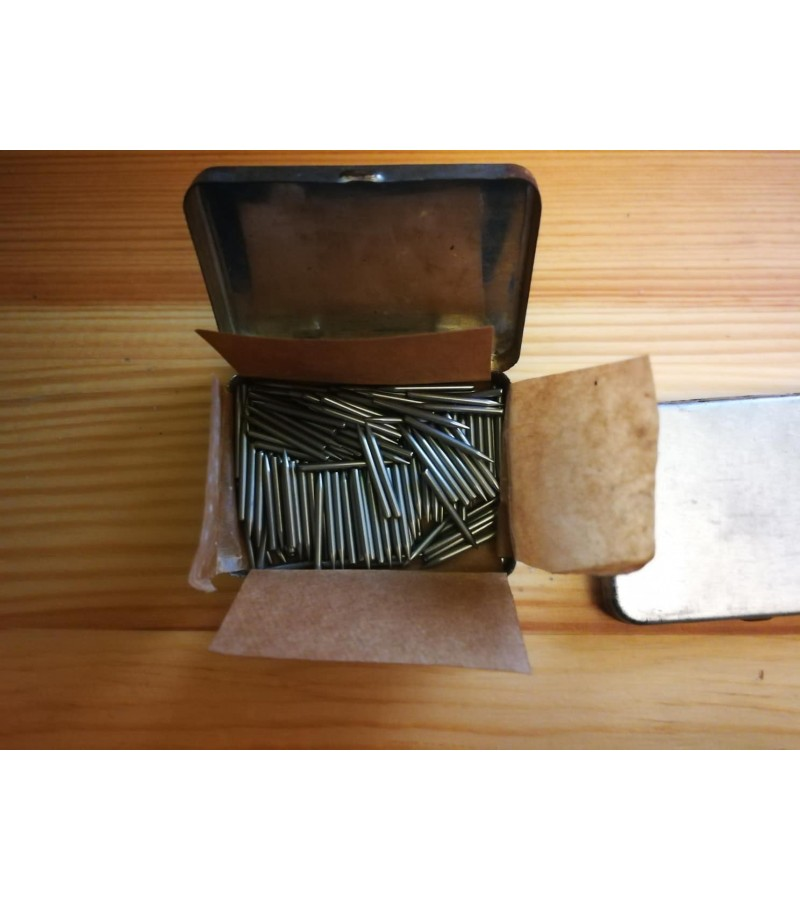 Patefono/gramofono adatėlės tarybinių laikų, GOST 5-to dešimtmečio. 200 vnt. adatėlių. 2 dėžutės. Kaina po 21