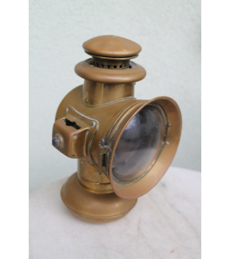 Žibintas karietos antikvarinis, karbidinis SOLAR lempa. 1909 m. Kaina 92