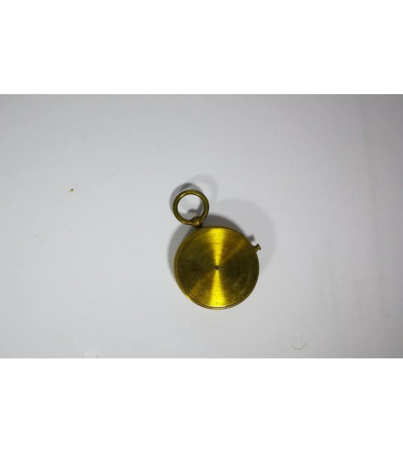 Kompasas antikvarinis, bronzinis. Kaina 37