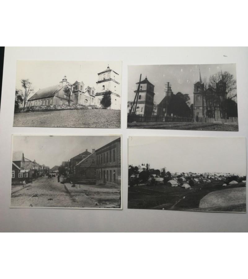 Plungės nuotraukos, panašu perfotografuotos tarybinias laikais. Kaina 12 už visas.