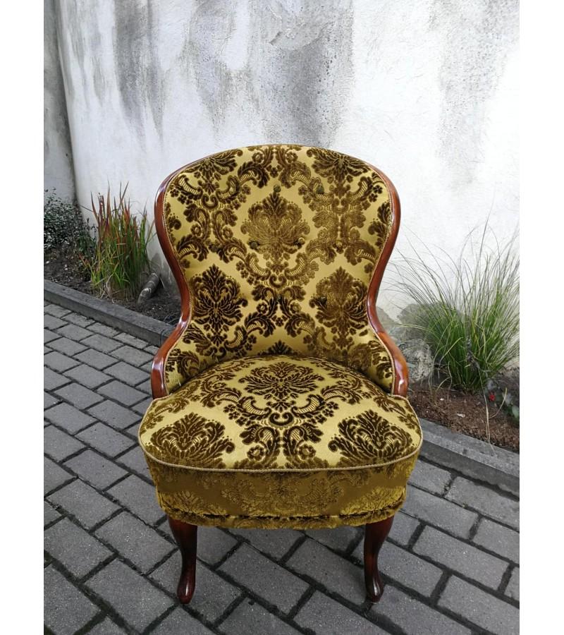 Fotelis Ema, švediškas, antikvarinis. Kaina 137