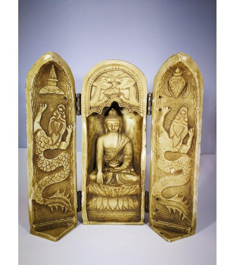 Indiška statulėlė, uždaroma. Kaina 42