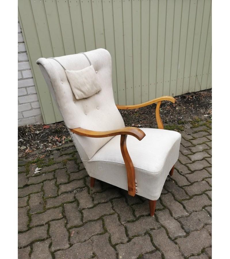Fotelis Mid-century modern stiliaus, skandinaviškas. Kaina 87