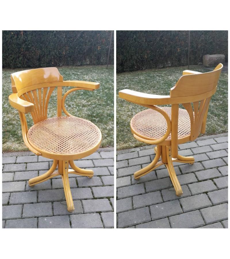 Vintazinis darbo kambario kėdė - krėslas. Kaina 157