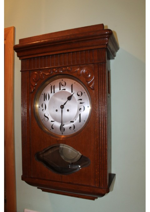 Didziulis laikrodis Junghans. Kaina 527