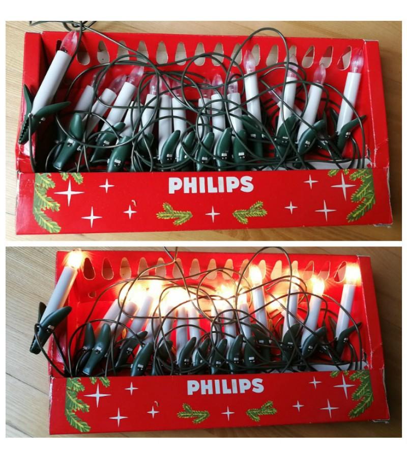 Eglutes lemputes, Philips. Kaina 16
