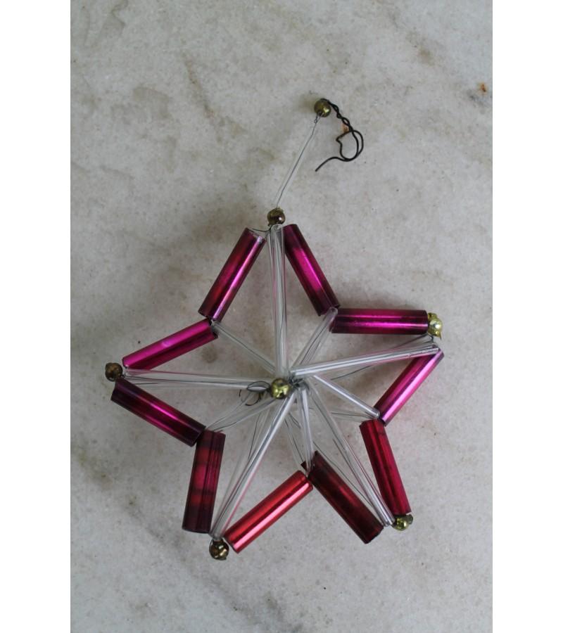 Stikliniu vamzdeliu zvaigzde. Kaina 11