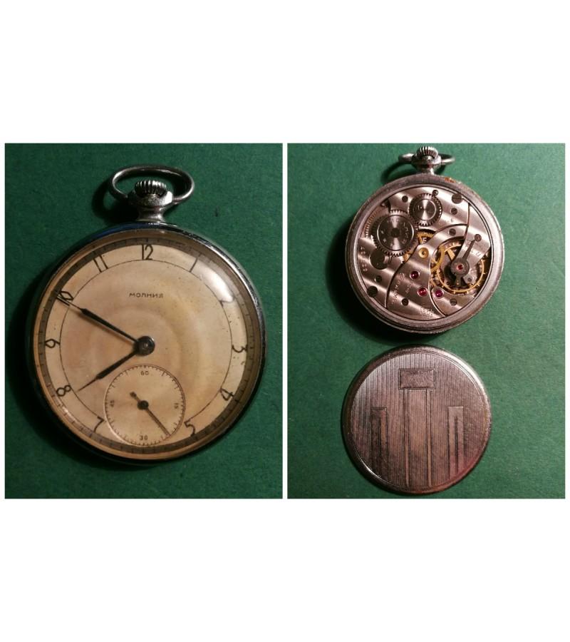 Kiseninis laikrodis MOLNIJA. Kaina 21