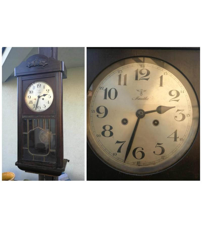 Antikvarinis laikrodis Mauthe kabejes Kaune. Kaina 58