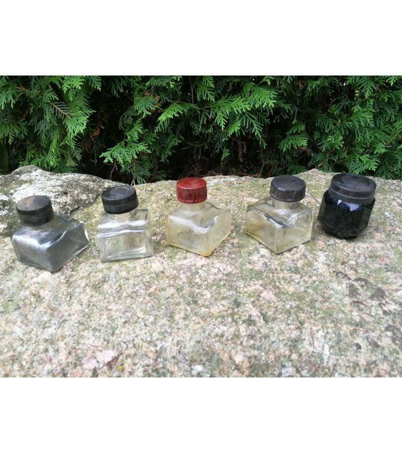 Rašalinės antikvarinės LIKO DVI. PARDUOTA: pirmas, antras ir ketvirtas buteliukai. Kaina po 8