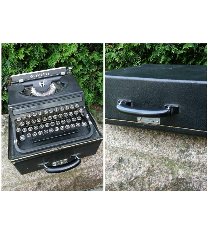 Antikvarine spausdinimo masinele OLIVETTI. Kaina 107