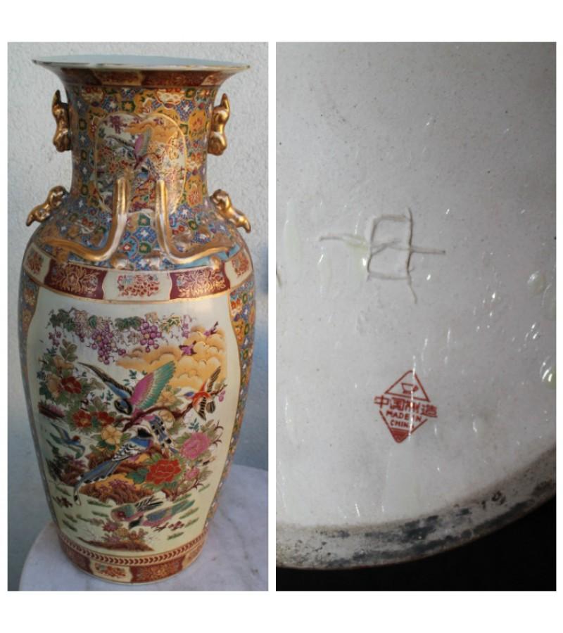 1960-1970 m. kinietiska didziule vaza. Kaina 72