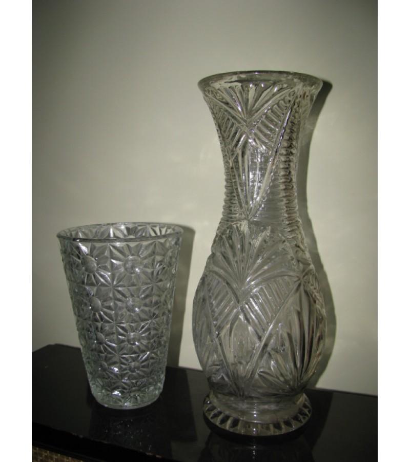 Tarybine stikline vaza. LIKO 1 vnt. Kaina 6 Eur.