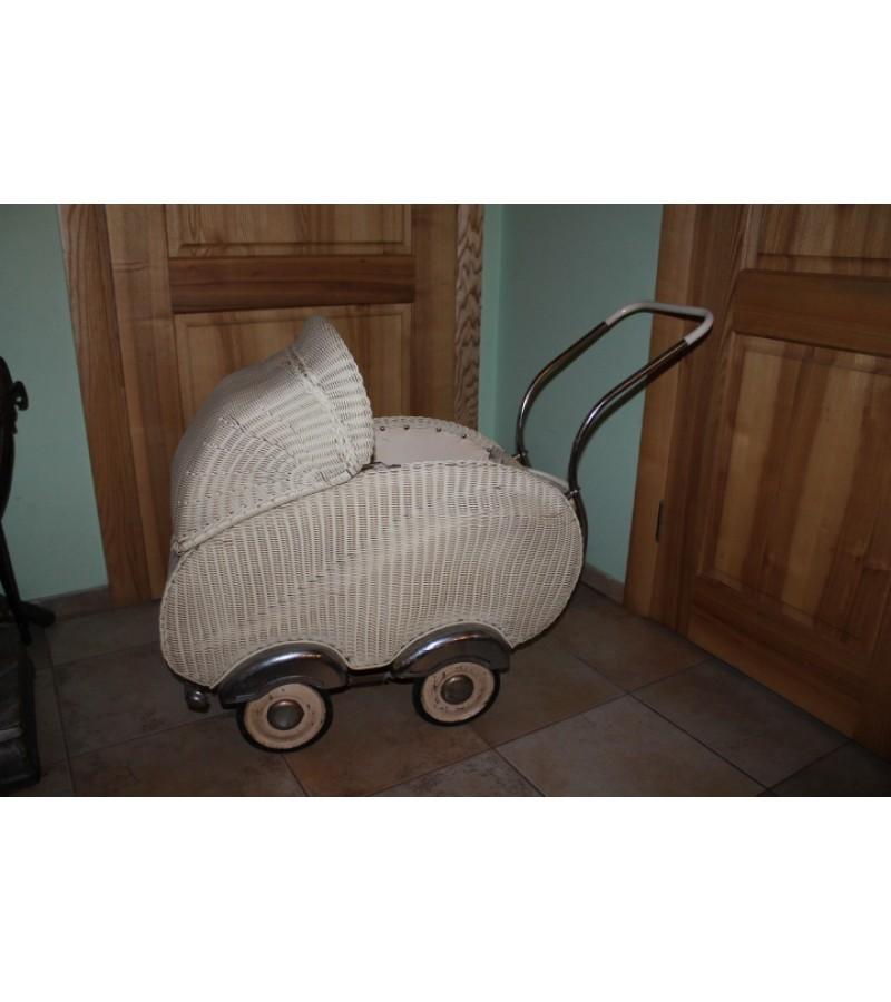 Antikvarinis vežimėlis HECKER. Vokietija. Kaina 97