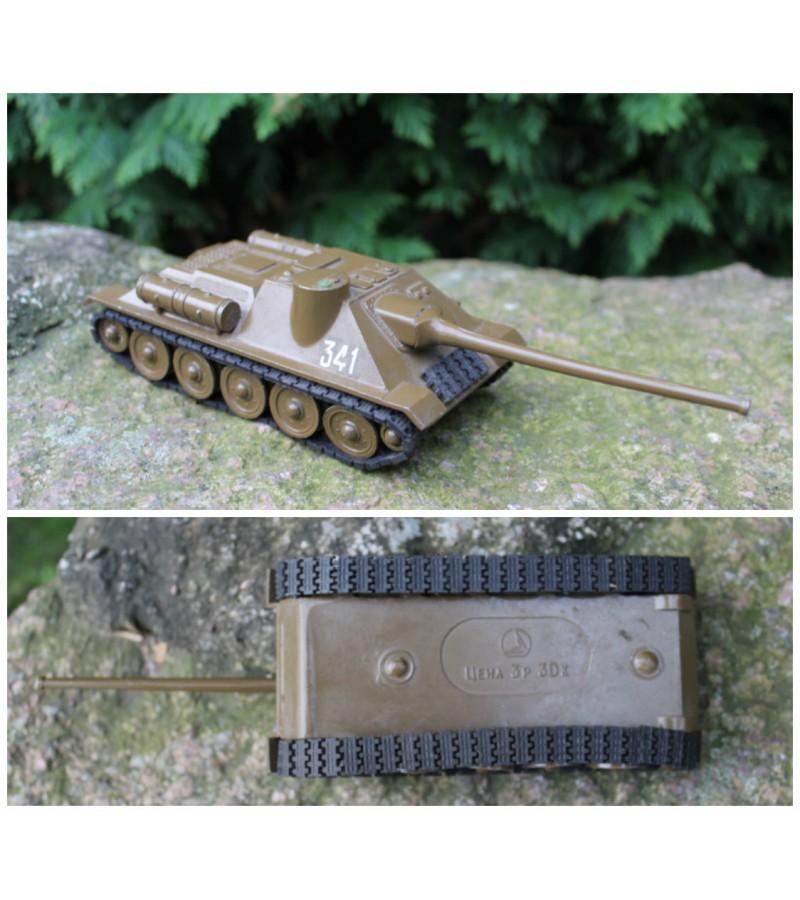 Kolekcinis metalinis tankas. Kaina 22