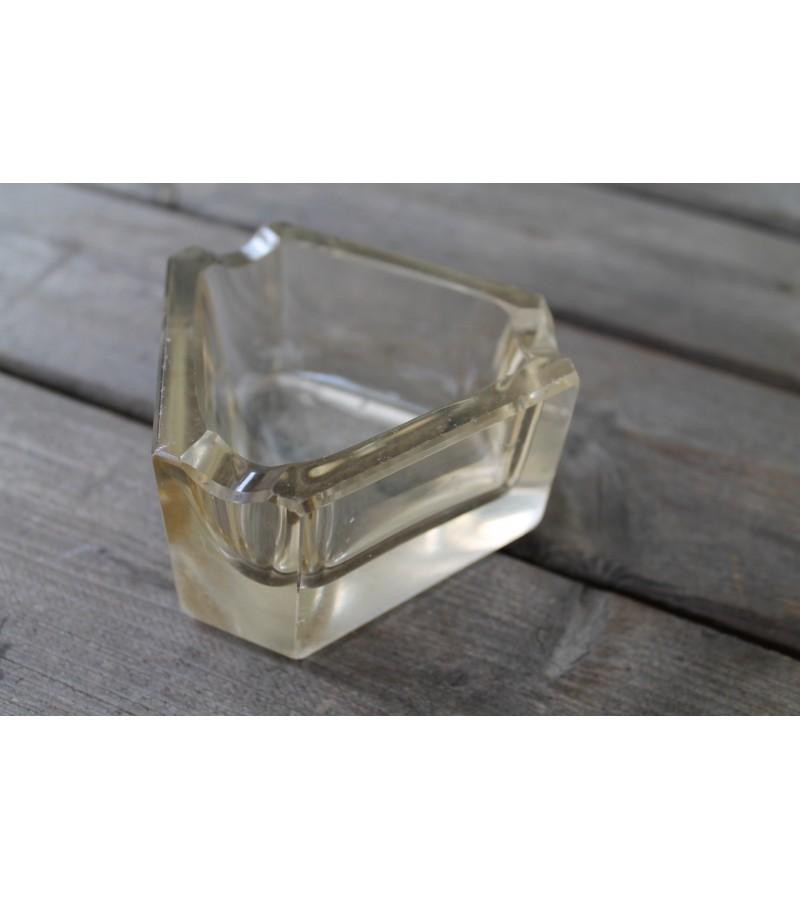 Art Deco storo stiklo tarpukario pelenine. Kaina 21