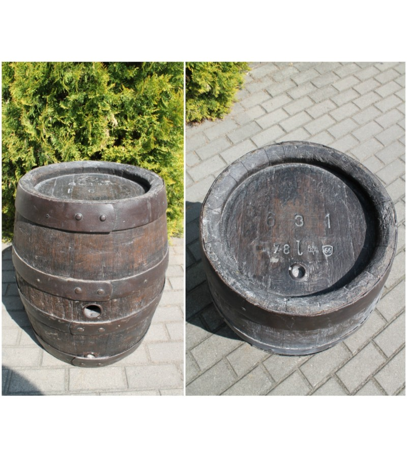 Antikvarine konjako backa, 78 l. Kaina 137 Eur.