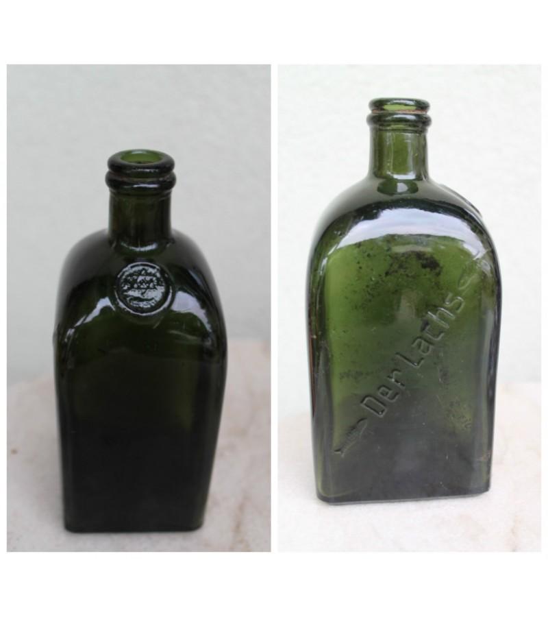 Antikvarinis butelis su zydiska Dovydo zvaigzde. Kaina 32
