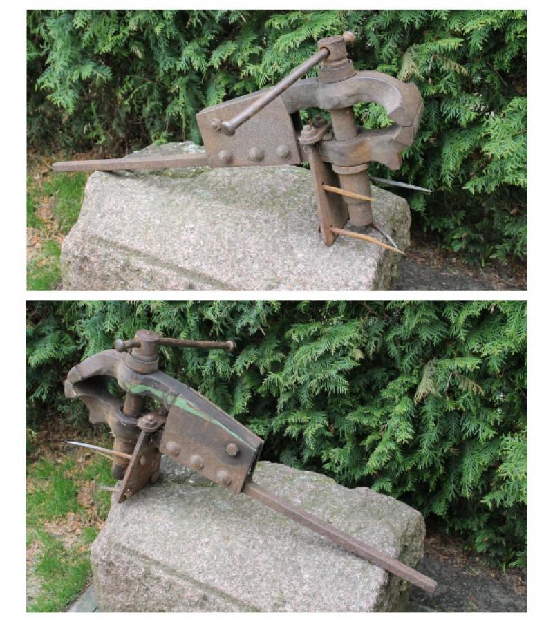 Antikvarinis kalviskas spaustuvas. Kaina 87