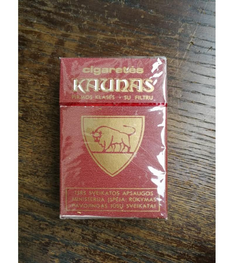 Cigaretes Kaunas. Nenaudota. Kaina 22