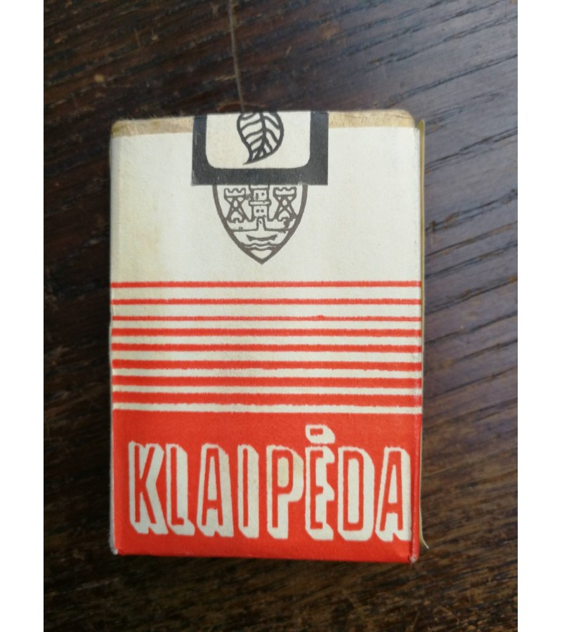 Cigaretes Klaipeda. Nenaudota. Kaina 12