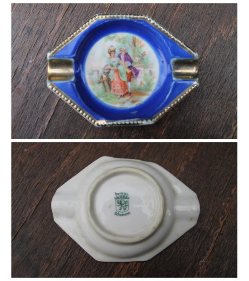 Antikvarine porcelianine moteriska pelenine. Kaina 21