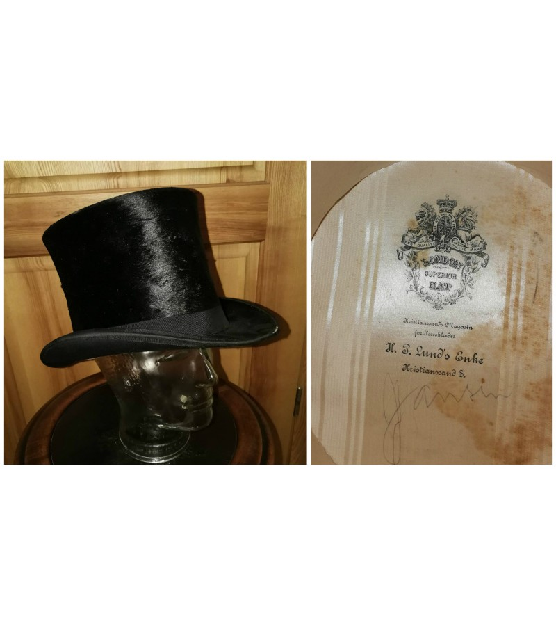 Cilindras London superior hat. Kaina 68