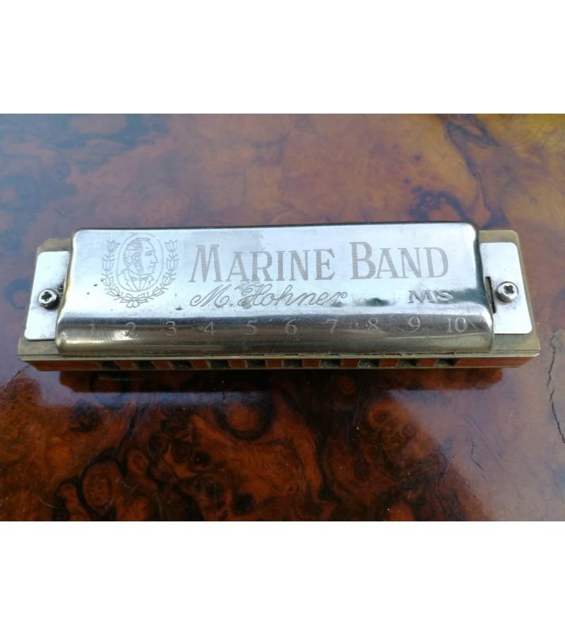 Armonikele Hohner Marine band. Kaina 52