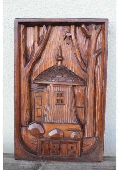 Medinis paveikslas Baublys. Kaina 18 Eur.