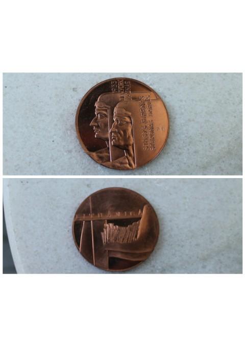 Stalo medalis Darius ir Girenas. Kaina 11