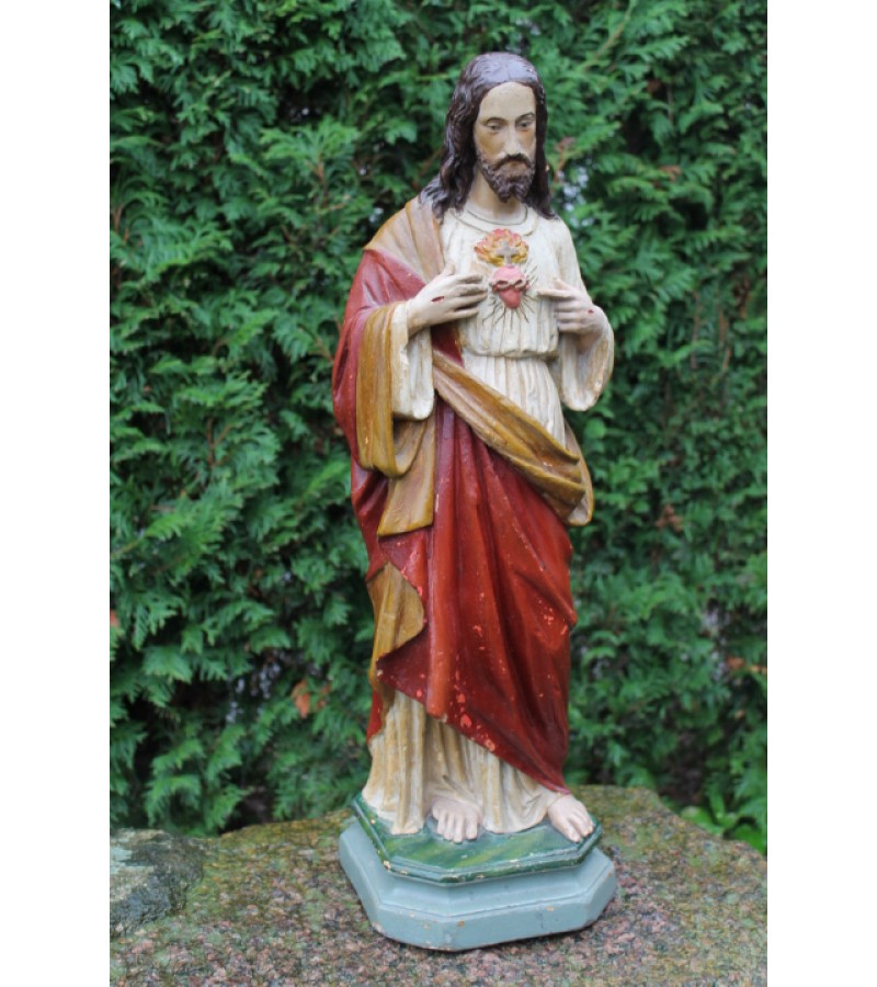 Antikvarine Jezaus statula. Kaina 253