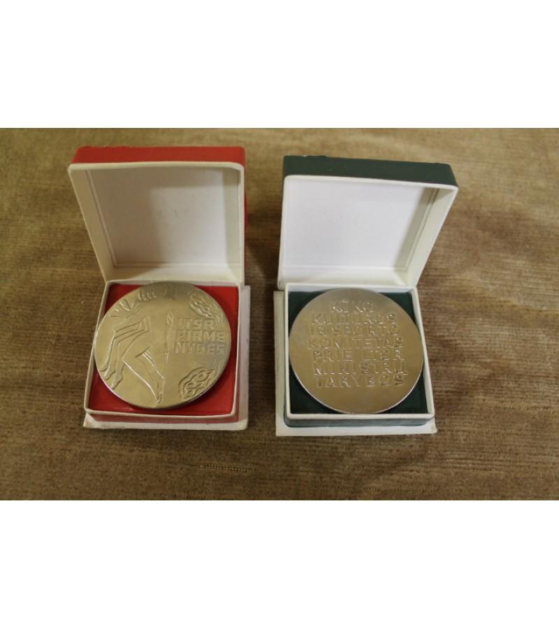 Sporto medaliai. Kaina po 7 Eur.