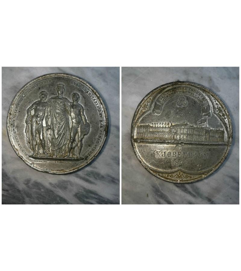 Stalo medalis. 1873 m. Kaina 21