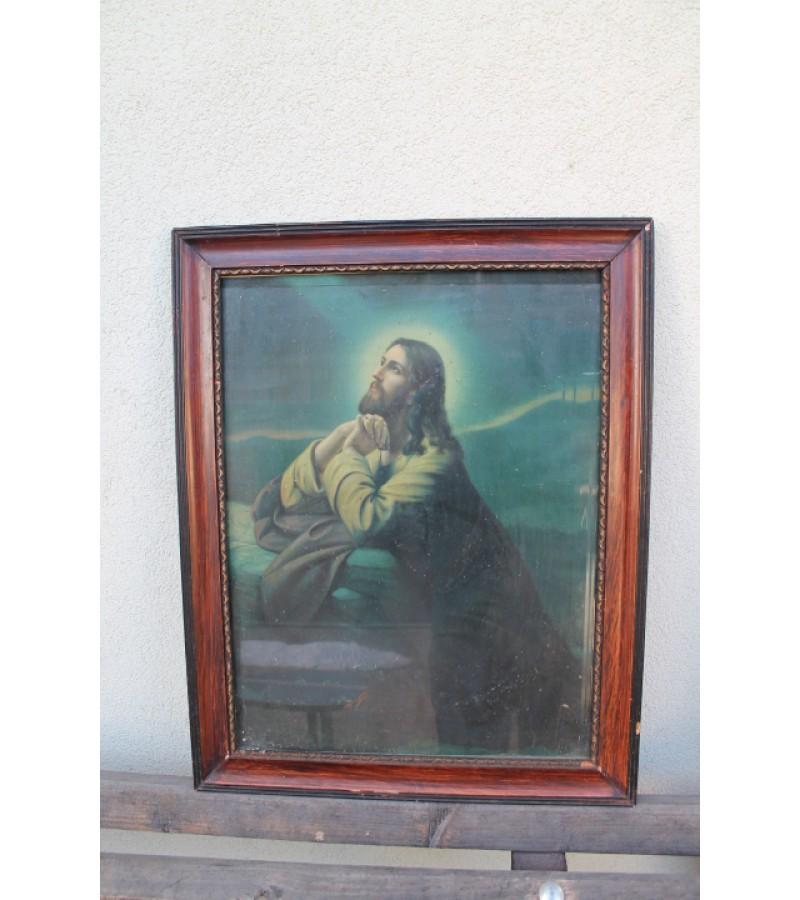 Jezaus paveikslas. Kaina 18 Eur.