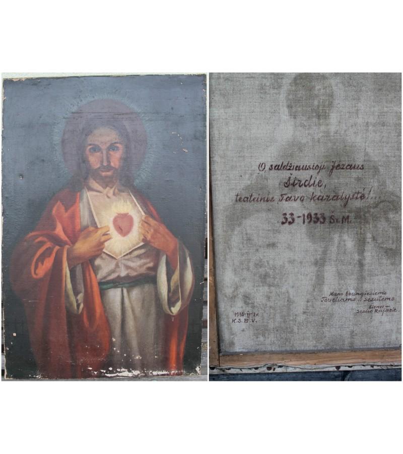Nutapytas Jezus, 1933 m. Kaina 127