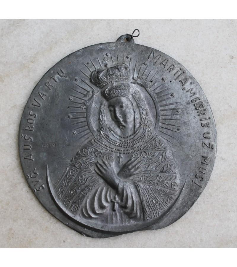 Prieskarine Sv. Marijos plakete. Kaina 21